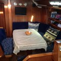 Bavaria 46 Holiday - Cruise the Mediterranean - Aus Rego:Sits 8-10 at saloon table