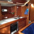 Bavaria 46 Holiday - Cruise the Mediterranean - Aus Rego:In-line galley with new stove