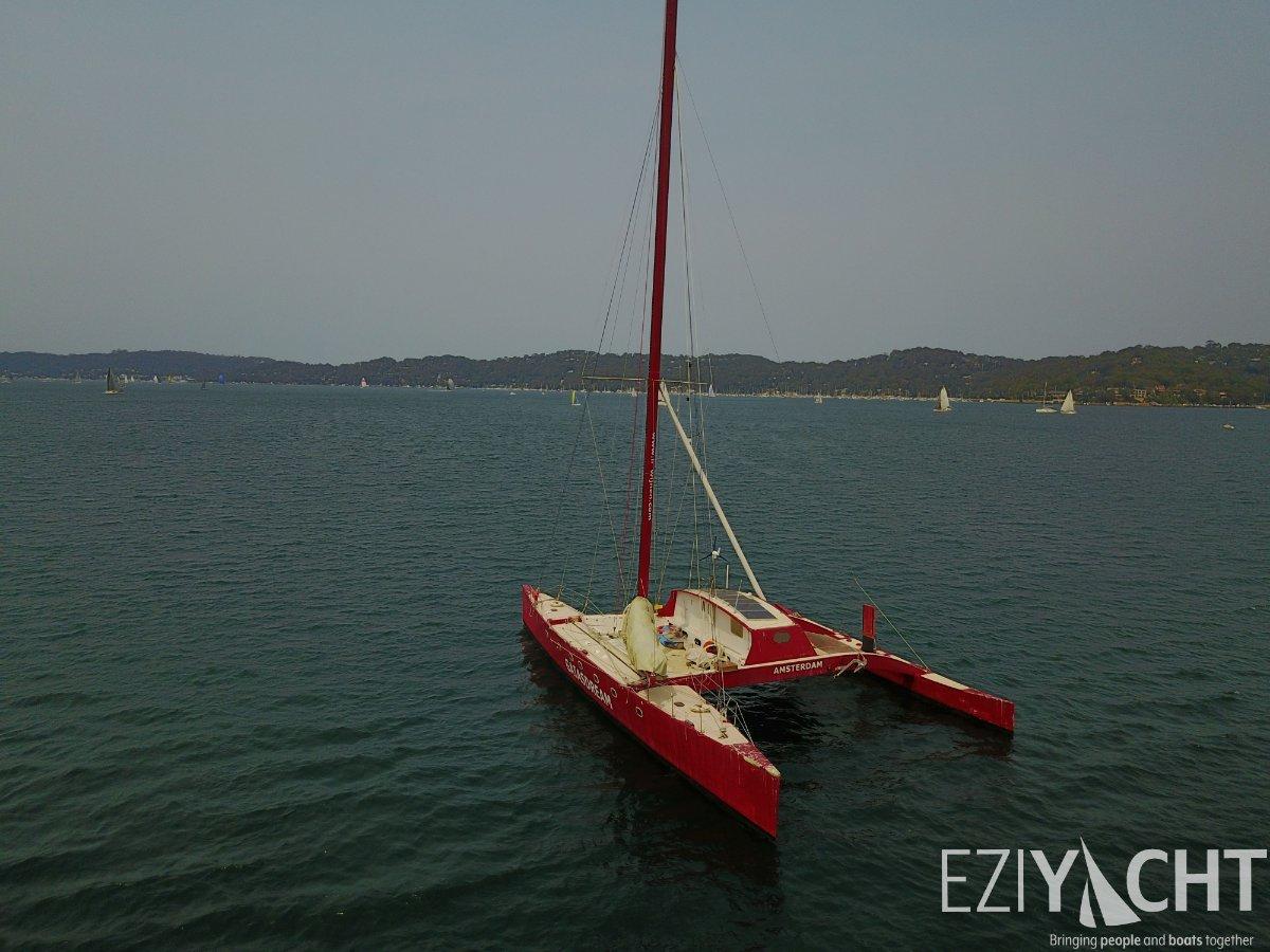 Proa Pacific Proa 71 -Sustainable Eco-friendly Renewable Energy Sailing