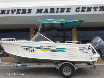 Quintrex 530 Freedom Sport | Yamaha F100 Fourstroke *Immaculate