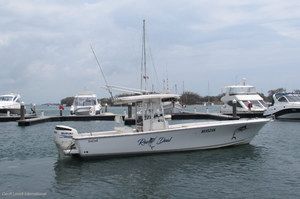 Seacraft Master Angler Centre Console New Listing