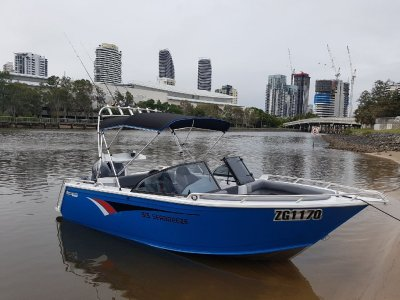 Horizon Aluminium Boats 515 SeaBreeze 2017 June, only 43 hours 4 stroke 90hp Yamaha