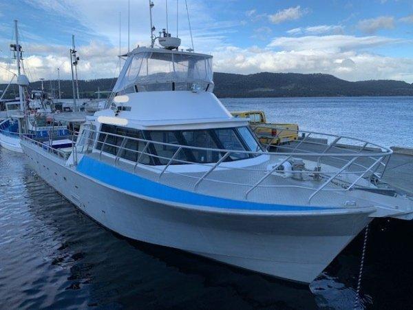 16.8m Aluminium Commerical / Charter Vessel