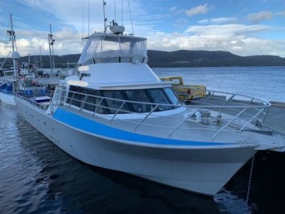 16.8m Aluminium Commerical / Charter Vessel
