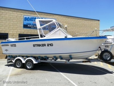 Pacemaker Striker 210 Offshore FISHING RIG FOR SOFT RIDE