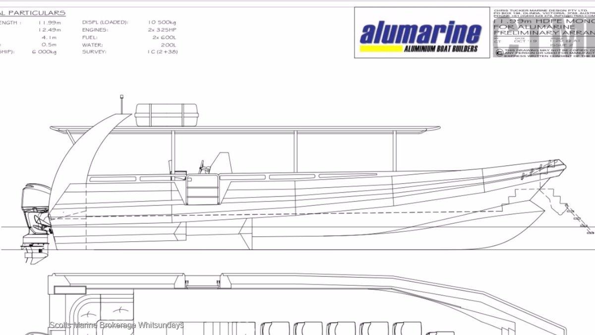 Alumarine 12.0 Z Bow RIB