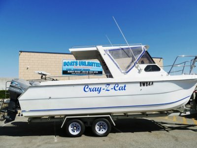Leisurecat 7000 OFFSHORE FISHING RIG FOR SOFT RIDE