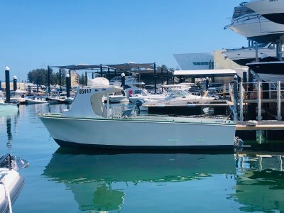 Fraser ex-in survey cray boat, with 2014 Yanmar 40 hours