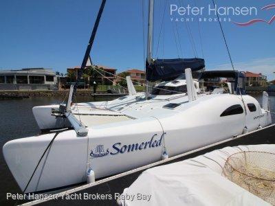 Great Barrier Express Sportsdeck Sailing Catamaran