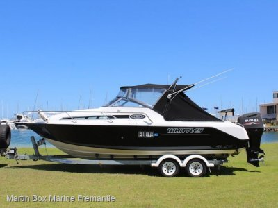 Whittley SL 26 Soft top With Outboard