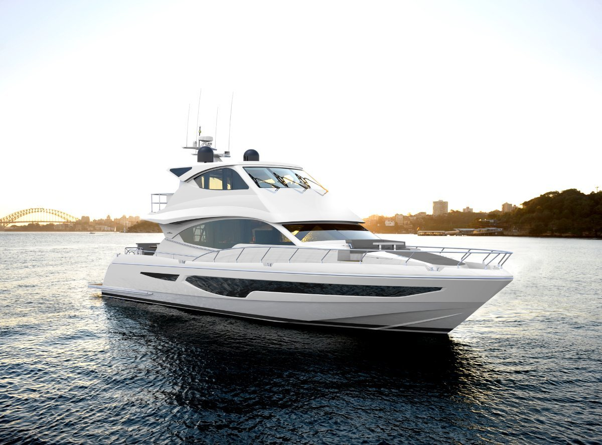 New Whitehaven Flybridge 7000