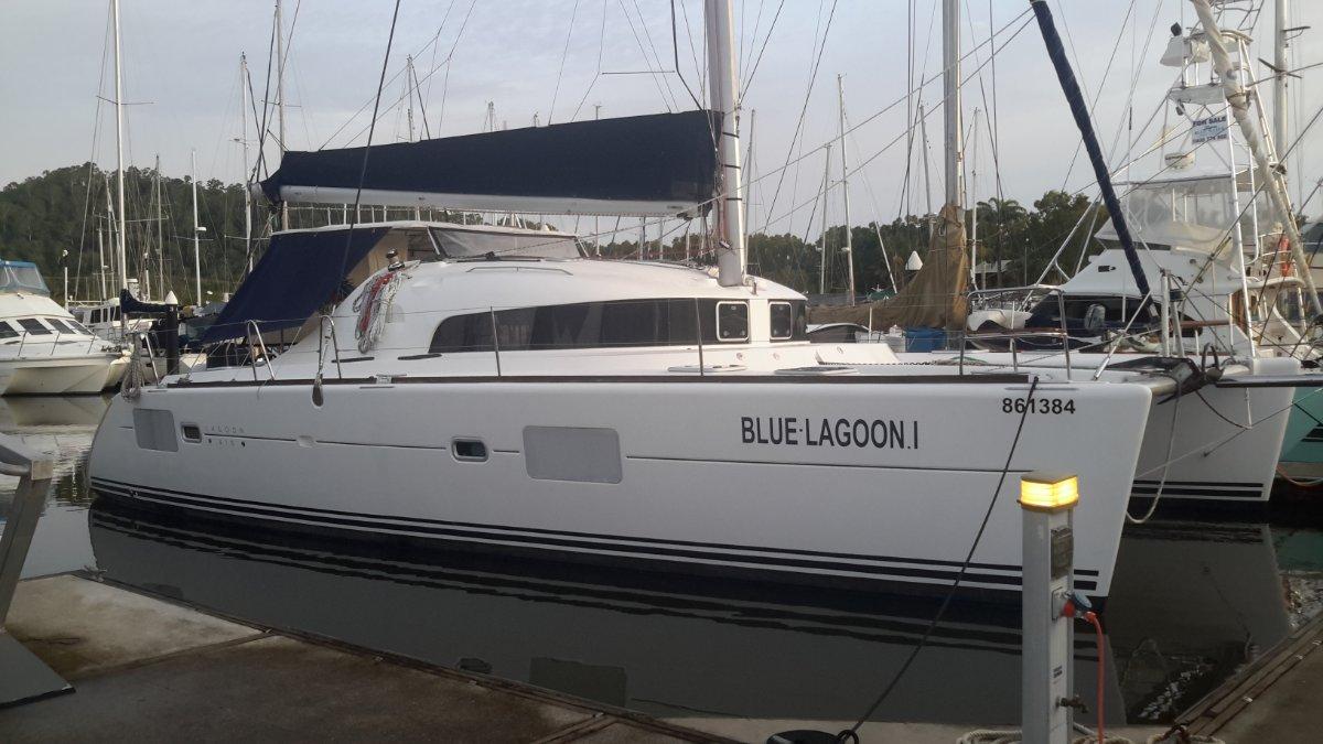 Lagoon 410 S2:Cairns 2 weeks ago
