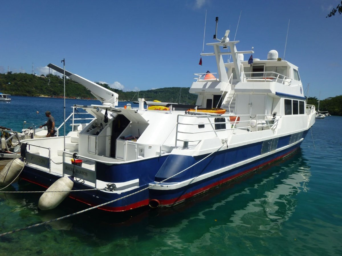 Private Expedition Motor Yacht