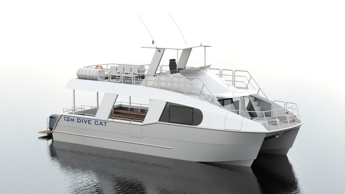 Saltwater Commercial Boats 12.5 Dive/Tour Boat