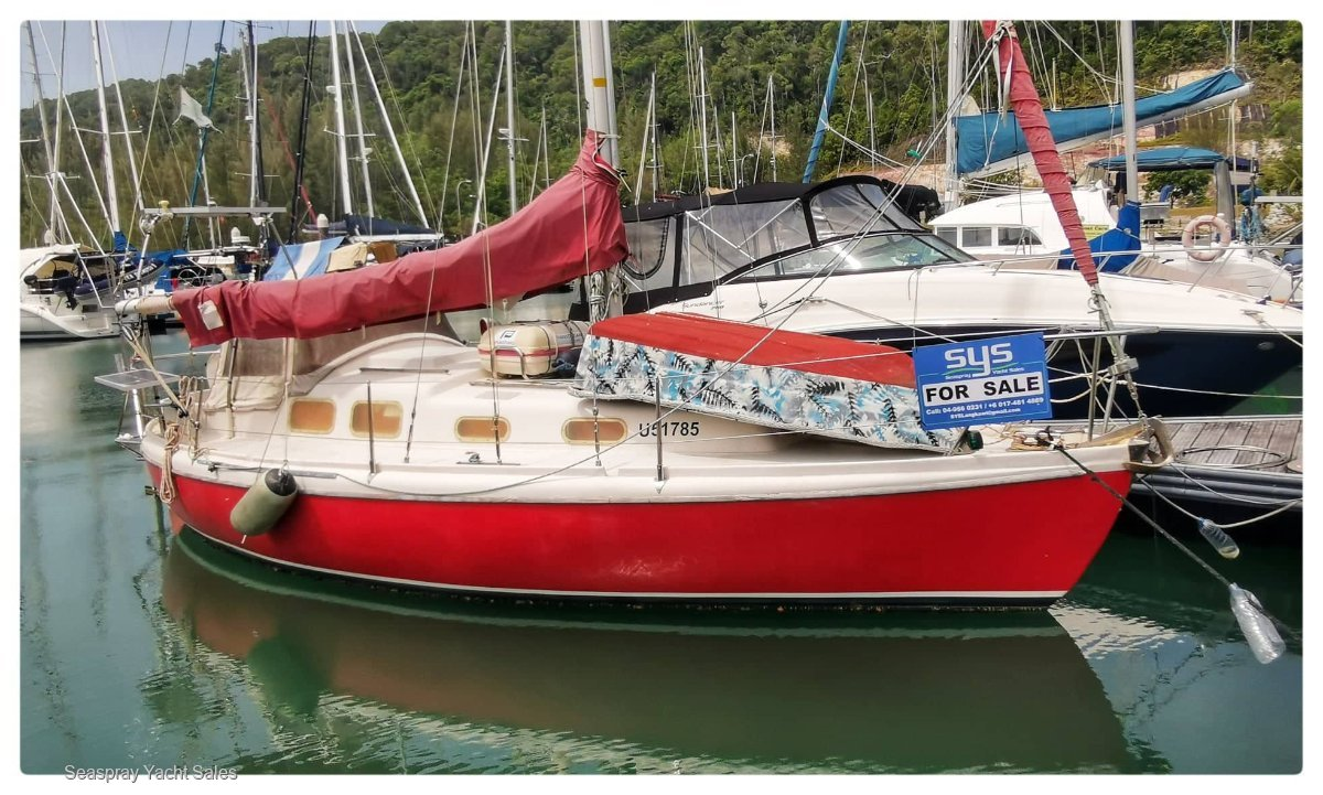 Allegro 27 Yacht for sale in Langkawi Malaysia.:Allegro 27 for sale in Langkawi