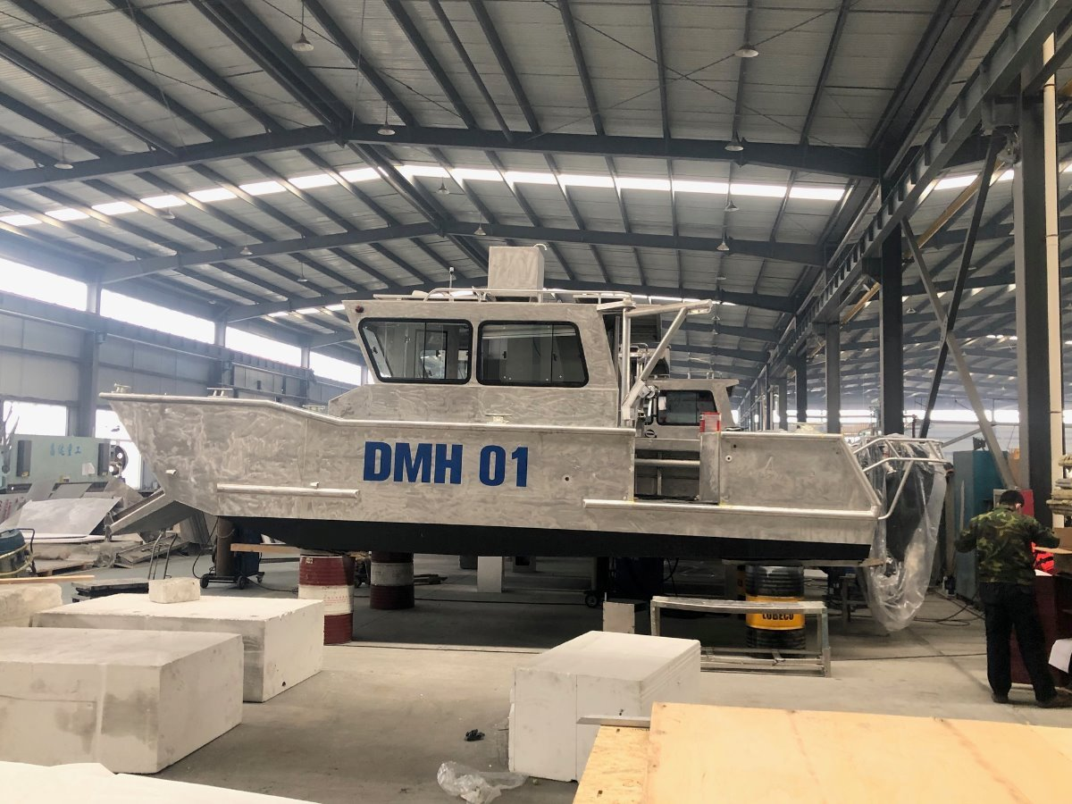 Saltwater Commercial Boats 8.0 Survey barge