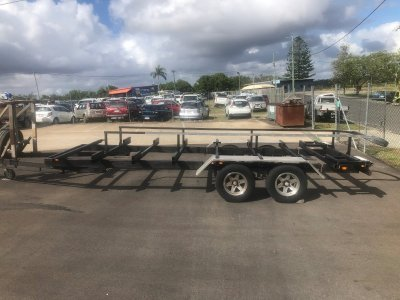 Used 28Ft Cat Trailer