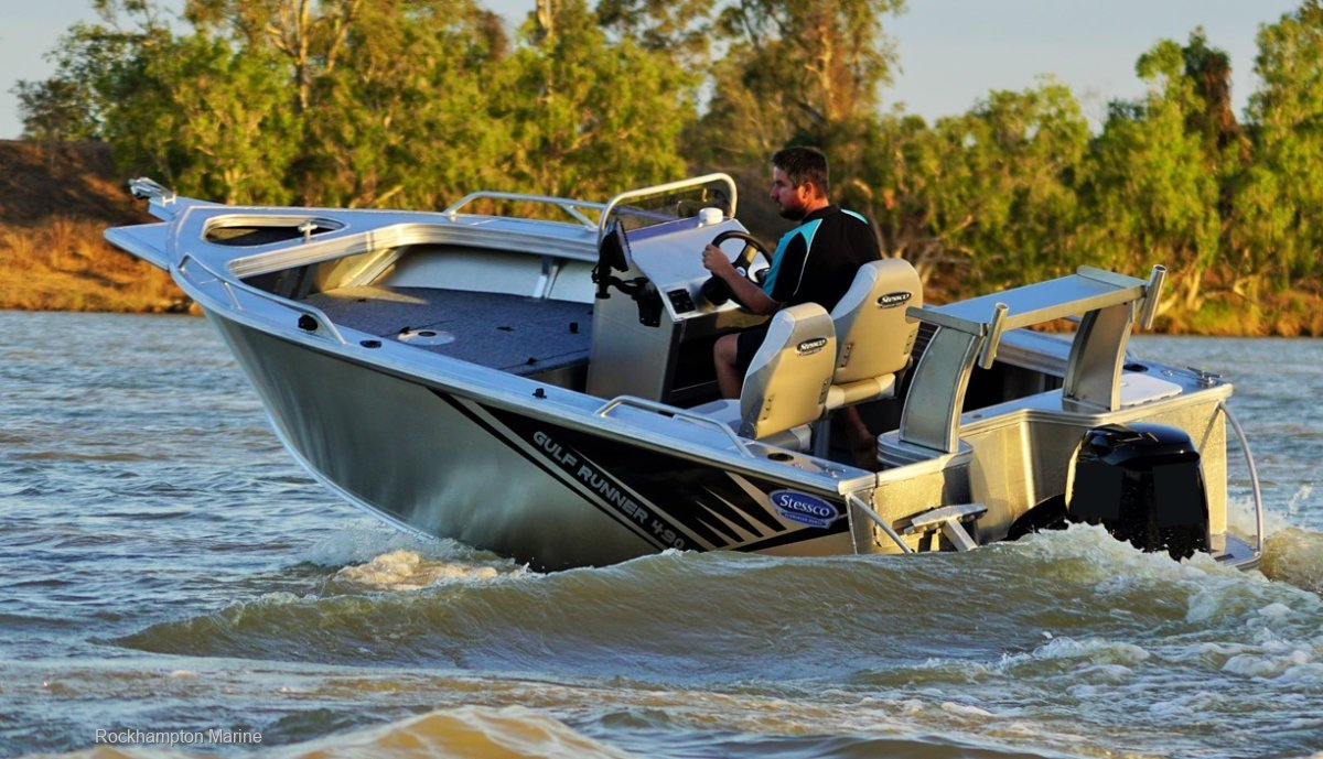 Stessco Gulf Runner 490 B, M, T PACKAGE FROM ROCKHAMPTON MARINE!