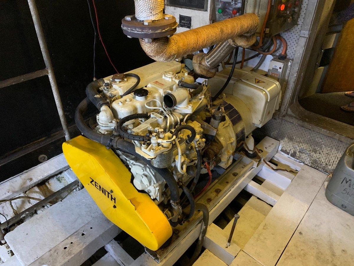 Custom Carvel Planked Timber Motor Vessel