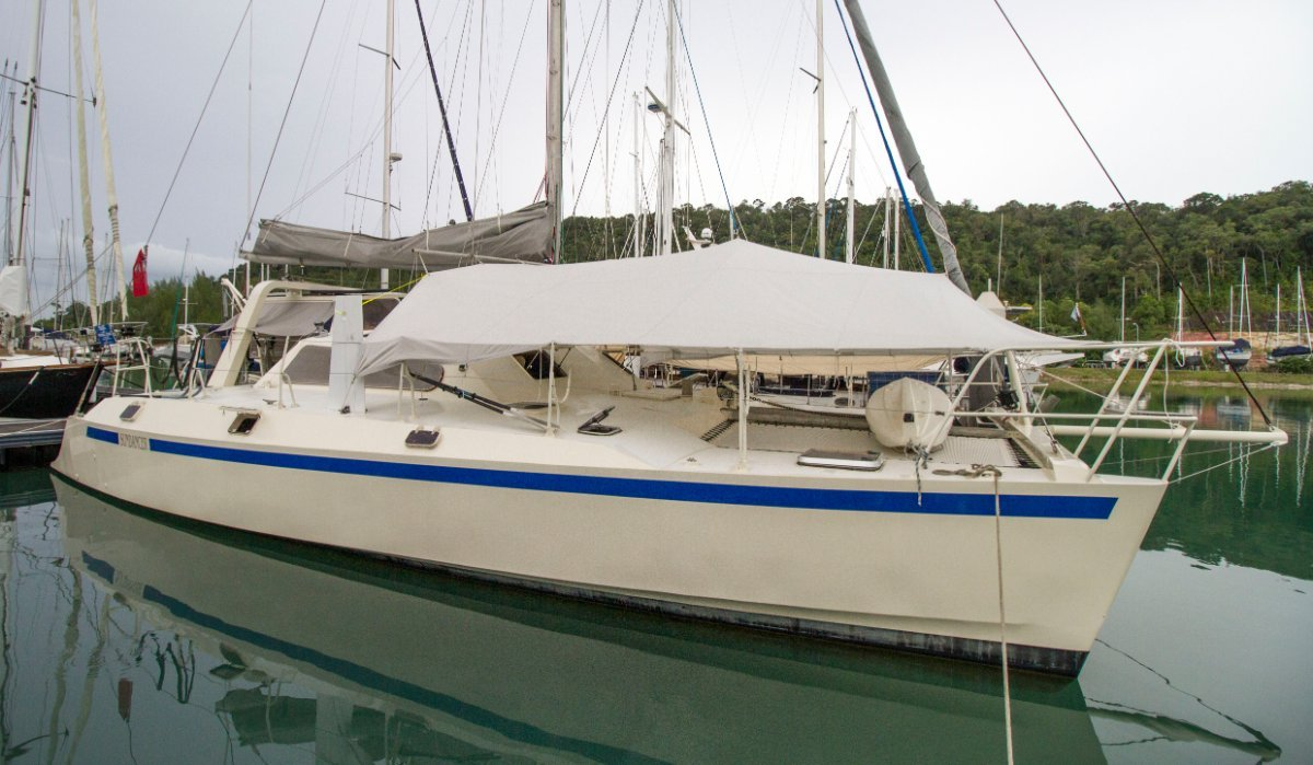 Peter Kerr 13 meter Yacht for Sale in Langkawi:Sailing Yacht Catamaran for Sale in Malaysia