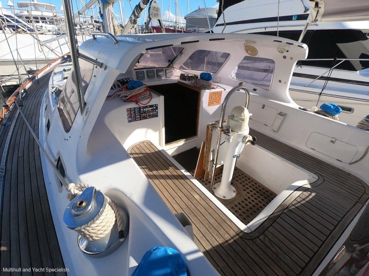 Pocock Centre Cockpit Custom Sailing Yacht