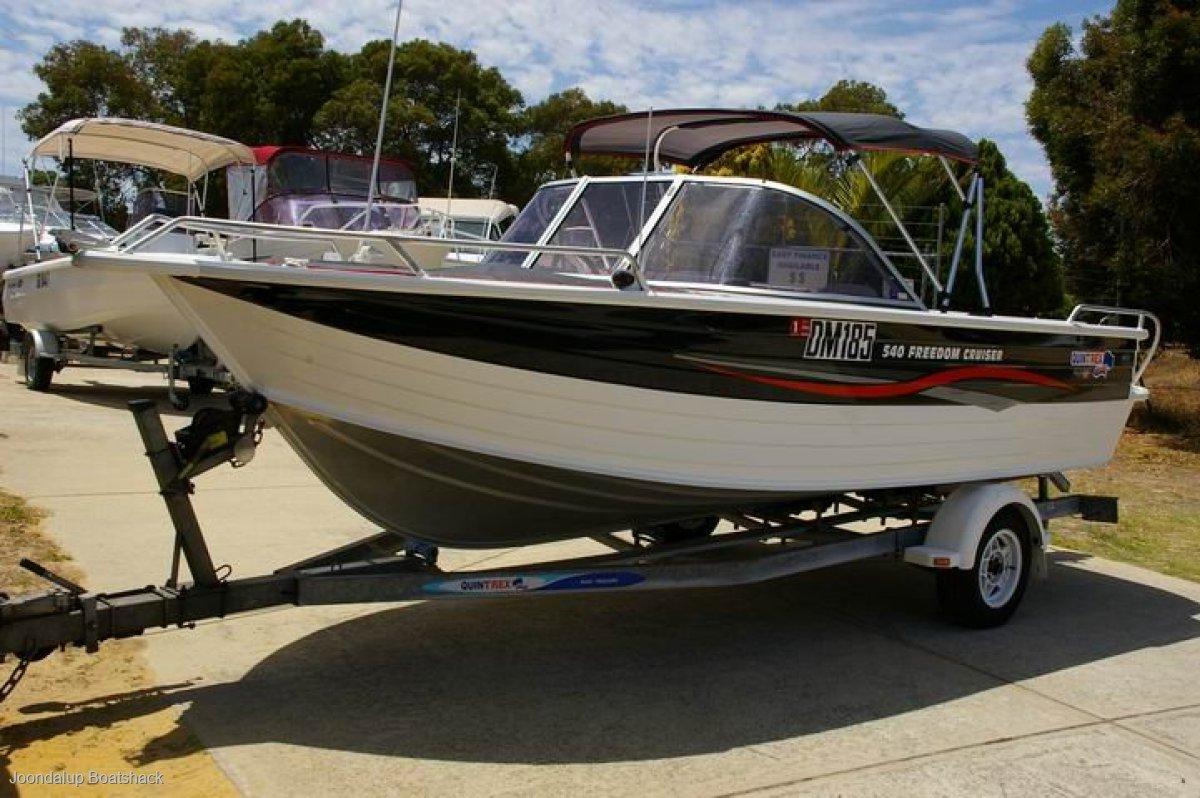 Quintrex 540 Freedom Cruiser 2007 model 250 hours