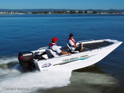 Quintrex 420 Hornet Trophy | Yamaha F25 Four Stroke *New Package