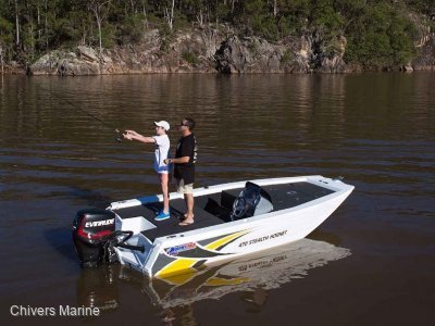 Quintrex 470 Stealth Hornet | Yamaha F50 Four Stroke *New Package