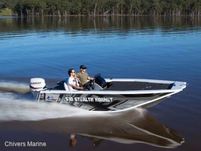 Quintrex 510 Stealth Hornet | Yamaha F70 Four Stroke *New Package