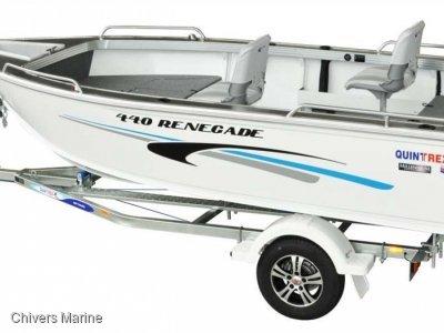 Quintrex 440 Renegade TS | Evinrude E-tec E40DGTL * New Package