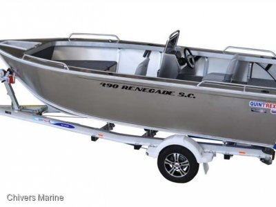 Quintrex 490 Renegade Side Console | Evinrude E50 *New Package