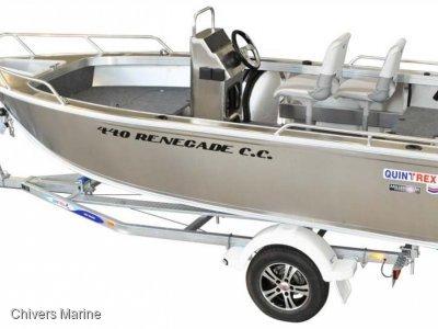 Quintrex 440 Renegade CC | Evinrude E-tec E40 * New Package