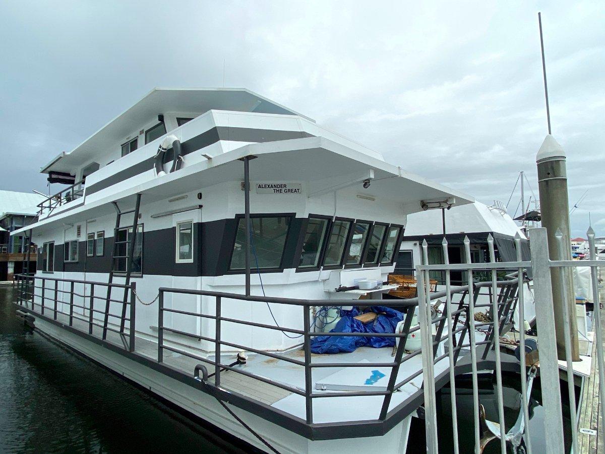 Custom Steel House Boat