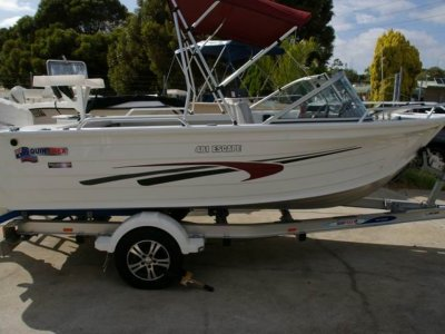 Quintrex 481 Escape 60 fourstroke 2013 model