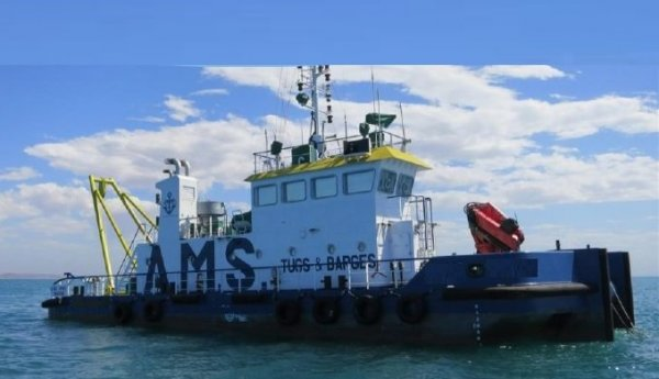 28m 1500bhp Shallow Draft Workboat