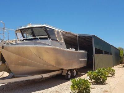 Air Rider Forward Cabin Workboat