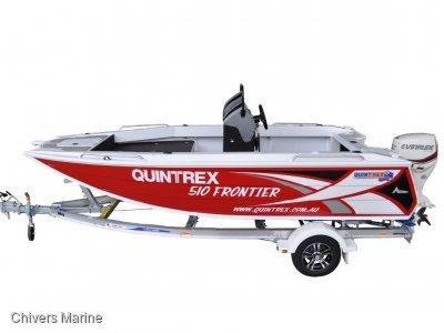Quintrex 510 Frontier Centre Console | Evinrude E75 * New Package
