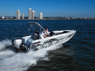Quintrex 590 Frontier Side Console | Evinrude E115 * New Package
