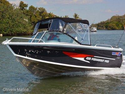 Quintrex 430 Fishabout Pro | Evinrude E-tec E30 * New Package