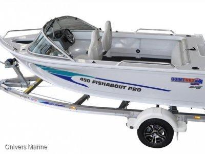 Quintrex 450 Fishabout Pro | Evinrude E-tec E40 * New Package