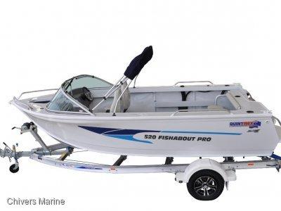 Quintrex 520 Fishabout Pro | Evinrude E-tec E75 * New Package