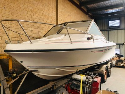 Baron Sportsman Legendary hull with diesel motor
