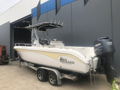 Sea Chaser 24 WA Offshore Series Powered with 250 HP Yamaha 4 stroke $59,850.00