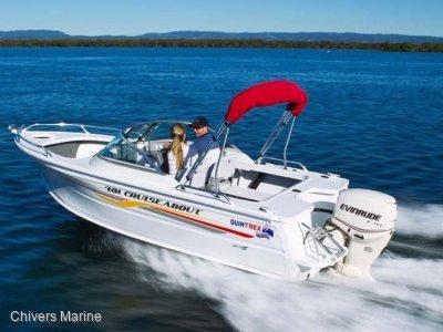 Quintrex 481 Cruiseabout | Evinrude E-tec E60 * New Package