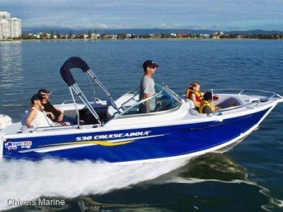 Quintrex 530 Cruiseabout   Evinrude E-tec E75 * New Package