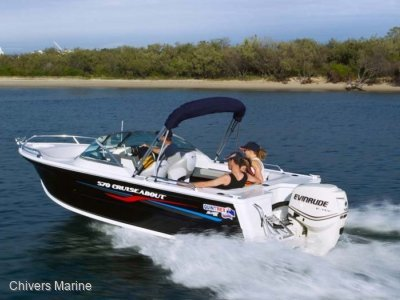 Quintrex 570 Cruiseabout | Evinrude E-tec E90 * New Package