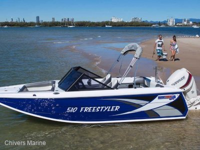 Quintrex 510 Freestyler   Evinrude E-tec E75 * New Package