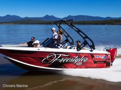 Quintrex 630 Freestyler | Evinrude E-tec C150 G2 * New Package