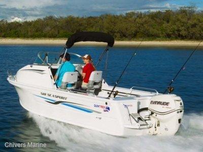 Quintrex 510 Sea Spirit | Evinrude E-tec E75 * New Package