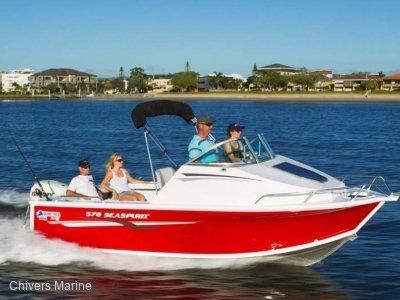 Quintrex 570 Sea Spirit | Evinrude E-tec E90 * New Package